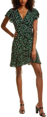 Diane von Furstenberg Avaya Silk Wrap Dress