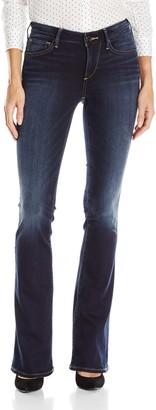 True Religion Women's Jennie Curvy Bootcut Jean in Native Orange Clean