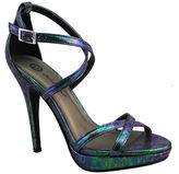 Michael Antonio Tarten Metallic Platform Pumps