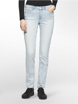 Calvin Klein Ultimate Skinny Pale Indigo Coated Jeans