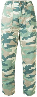 Mother The Shaker camouflage jeans