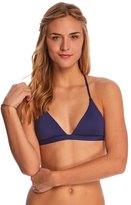 Roxy Swimwear Strappy Love Reversible Fixed Triangle Bikini Top 8151927