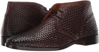 Carlos by Carlos Santana Piano Chukka Boot (Chocolate Woven Calf Leather) Men's Shoes