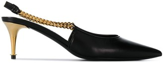 Tom Ford Chain Slingback Pumps