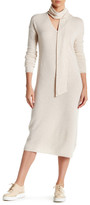 Equipment Mary Ann Cashmere Mid-Length Dress