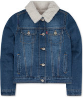 Levi's Faux-Fur Denim Jacket, Big Girls (7-16)