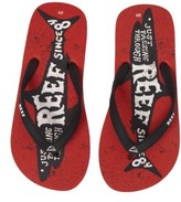 Reef Boy's Grom Switchfoot Prints Flip Flop