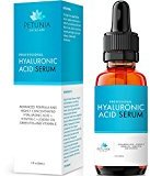 Fine Lines Best Anti Aging Hyaluronic Acid Serum with Vitamin C + E for Dry Skin, 1 fl. oz.