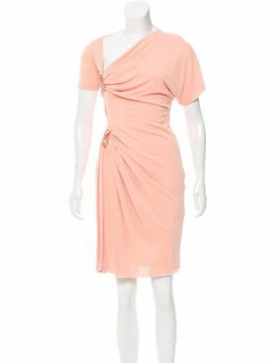 Genny Embellished Short Sleeve Dress gold