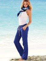 Victoria's Secret Rope Belt Linen Pant