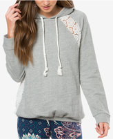 O'Neill Juniors' Avon Lace-Inset Hoodie