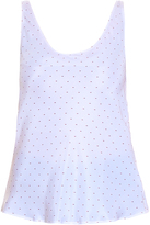 Frame Silk Tank Top