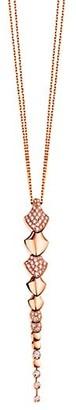 Akillis Python 18K Rose Gold & Diamond Pendant Necklace