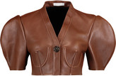 J.W.Anderson Cropped leather jacket