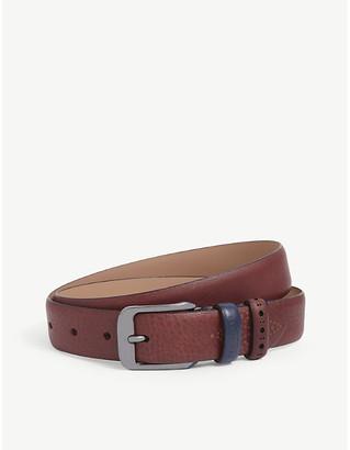 Ted Baker Auder brogue leather belt
