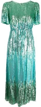 Rixo Venus sequin cocktail dress