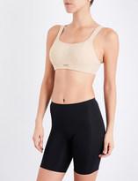 Panache Non-wired mesh and jersey sports bra