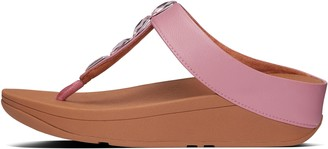FitFlop Velda Jewel Toe-Post Sandals