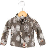 Dolce & Gabbana Boys' Printed Button-Up Shirt w/ Tags