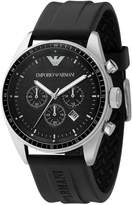 Emporio Armani Men's AR0527 Sport Rubber Chronograph Dial Watch