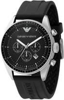Emporio Armani Men's AR0527 Sport Rubber Chronograph Dial Watch