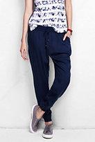 Classic Women's Petite Track Pants-Celestial Blue