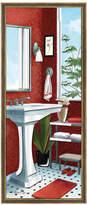 elico ltd Bath Wave Mirror Accent Wall Art