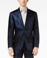 INC International Concepts Men's Slim-Fit Shiny Linen Blazer, Created for Macy's