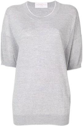 Agnona short-sleeve jumper