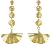 Ariana Boussard Reifel Kabuki Earrings - Brass