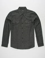 Coastal North Star Mens Flannel Shirt