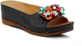 Spring Step Flower Child Slide Wedge Sandal