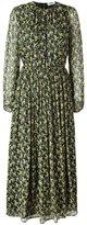 MSGM Jaune dress - women - Silk/Polyester - 42