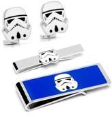 Star Wars Silver-Plated Stormtrooper Head 3-Piece Gift Set