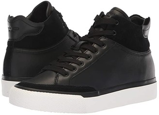 Rag & Bone RB Army High Sneaker (Black Leather) Women's Lace up casual Shoes