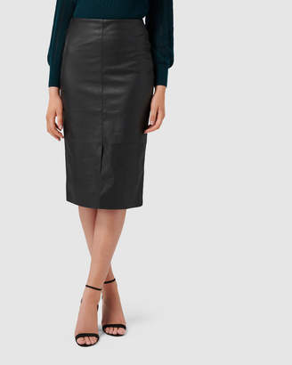 Forever New Jodie Pu Long Line Skirt