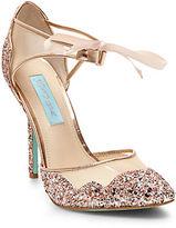Betsey Johnson Stela Glitter Heels