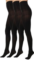 Hue Luster Tights 3 Pair Pack Hose