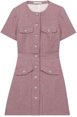 Maje Rida Tweed Mini Dress