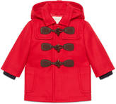 Gucci Baby wool cashmere montgomery coat