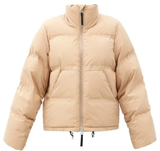 Aztech Mountain Panda Quilted Down Ski Jacket - Beige