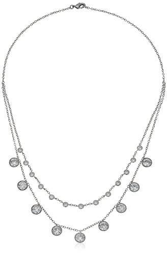 Nina Spring 17 Circular Drop Chain Necklace