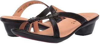 Think! Nanet - 84520 (Black/Kombi) Women's Sandals