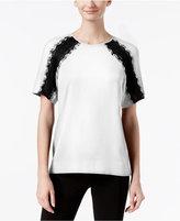 Calvin Klein Lace-Inset Top