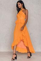 True Decadence Ruffle Halterneck Dress