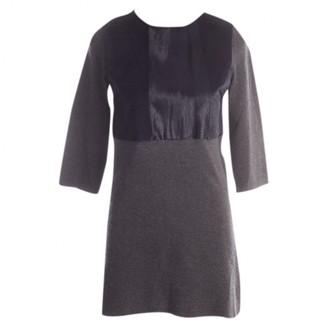 Allude Grey Wool Dress for Women
