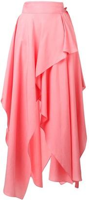 J.W.Anderson Bubblegum Handkerchief Skirt