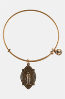 Alex and Ani 'Mother Mary' Wire Bangle