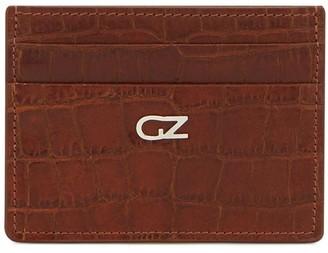 Giuseppe Zanotti Logo Plaque Embossed Cardholder