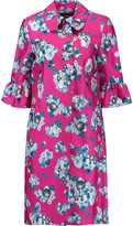 Diane von Furstenberg Philippa Printed Wool And Silk-Blend Coat
